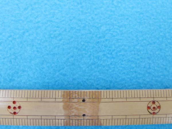 画像1: 【NEW】 フリース 無地(ブルー) 50cm単位 アンチピリング加工