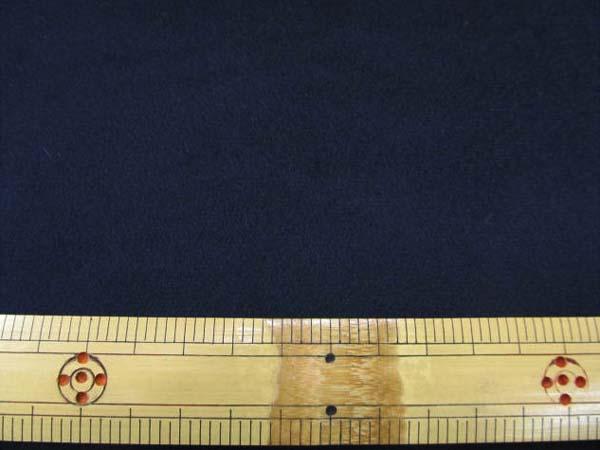 画像1: 合皮 スエード 【 C 】 (黒) 140cm巾