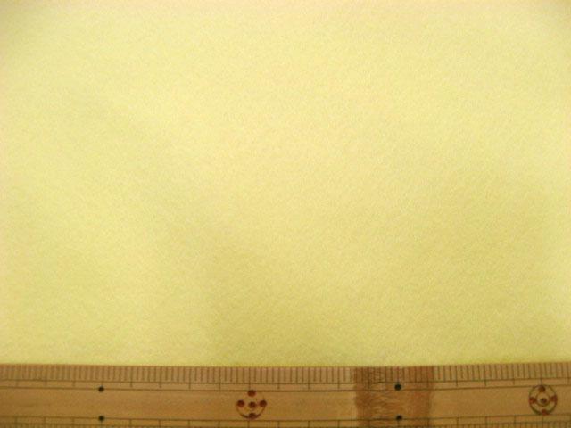 画像1: 【現品限り】洗えるフエルト90cm巾生地 レモンイエロー色(RZ-7)