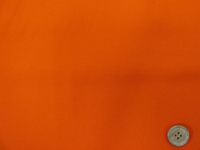 画像1: 定番無地 オックス生地 (オレンジ)