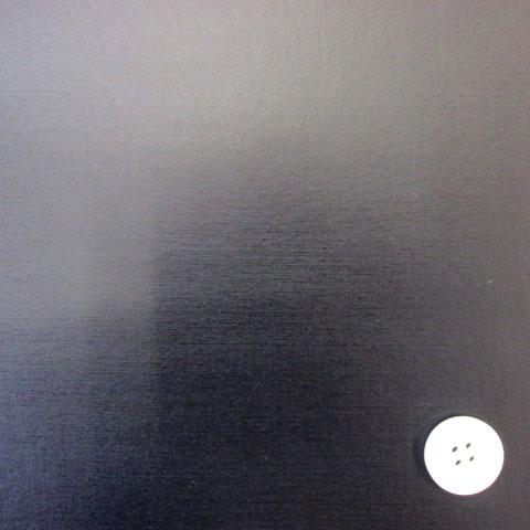 画像1: ▼無地  オックス生地  (紺) ラミネート◆訳ありはぎれ30cm
