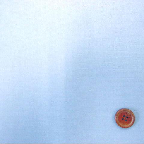 画像1: 無地  オックス生地  (サックス) ラミネート はぎれ85cm↑