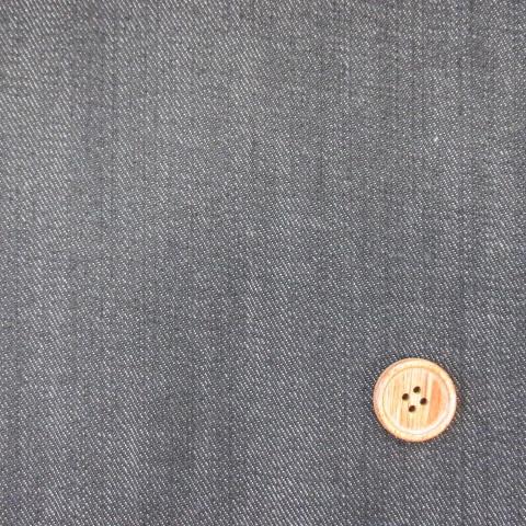 画像1: 150cm巾 デニム 【D】 (黒)