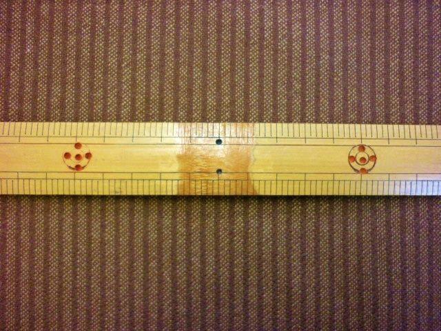 画像1: ●タスマニアウール ストライプ はぎれ80cm
