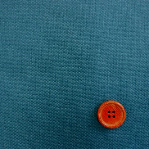画像1: ◎11号帆布 110cm巾パレットカラーハンプ はぎれ30cm(サックスブルー)