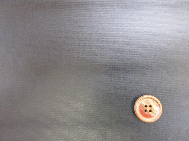 画像1: HP限定商品☆現品限りの2割引!! 無地  オックス生地  (黒) ラミネート つや消し