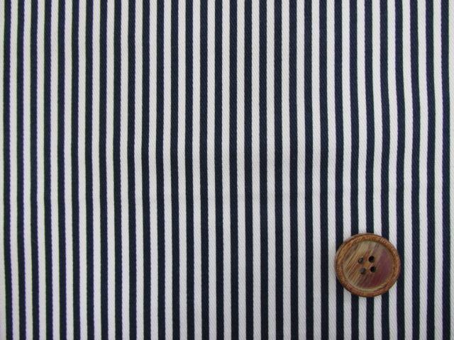 画像3: ツイル生地 セブンベリー 2mm巾ストライプ