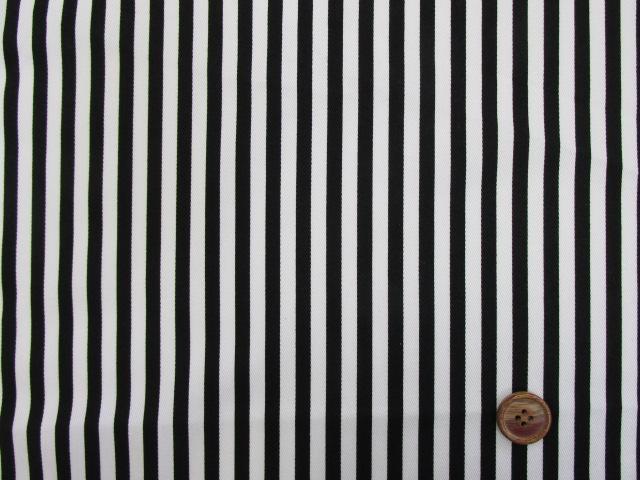 画像2: ツイル生地 セブンベリー 6mm巾ストライプ