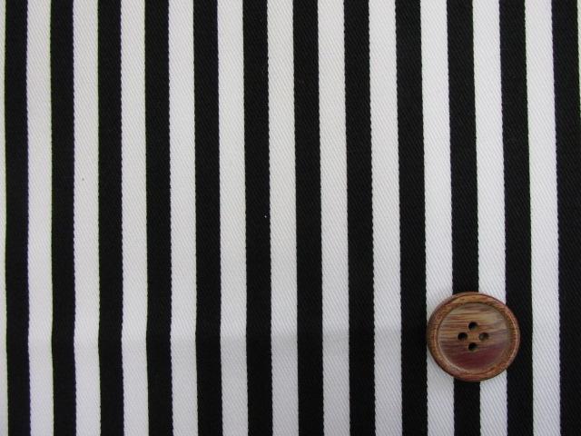 画像1: ツイル生地 セブンベリー 6mm巾ストライプ