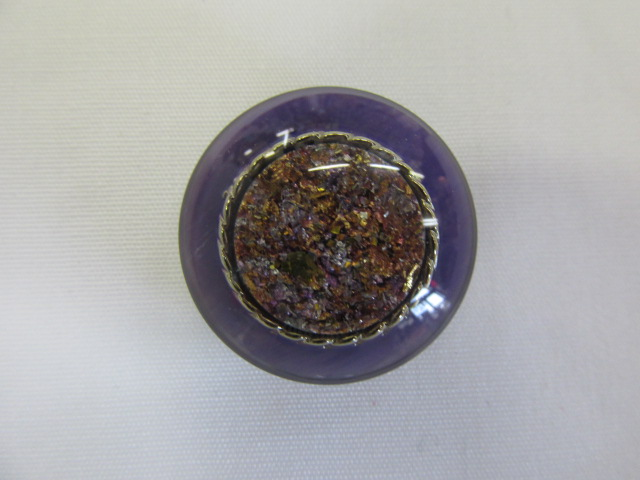 画像2: ボタン(20mm〜15mm)紫