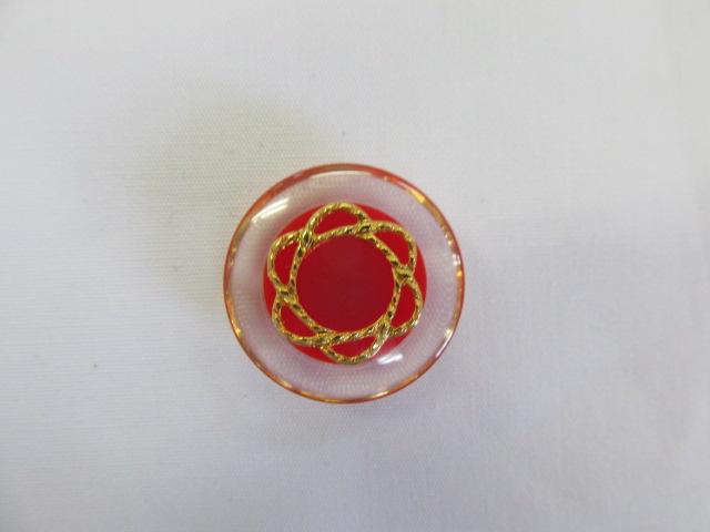 画像2: ボタン(20mm〜15mm)赤