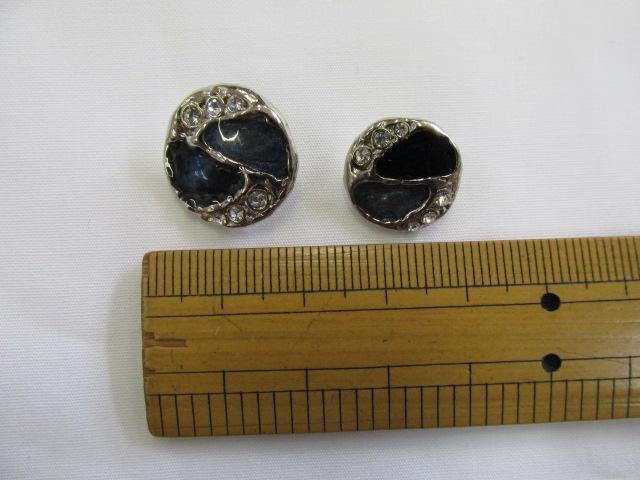画像1: ボタン(18mm〜15mm)シルバー