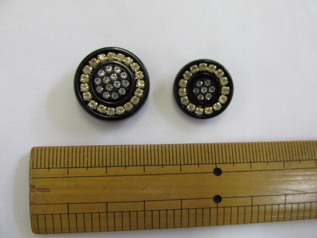 画像1: ボタン(20mm〜18mm)黒