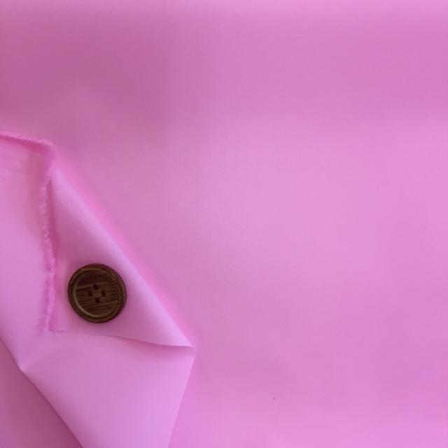 画像2: ■撥水加工 ナイロンタフタ生地 無地 はぎれ30cm(ピンク)
