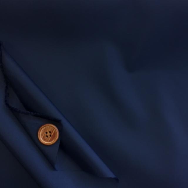 画像2: ■撥水加工 ナイロンタフタ生地 無地 はぎれ45cm(紺)