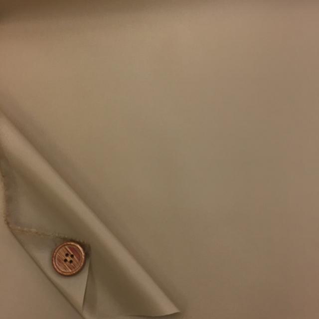 画像2: (2)撥水加工 ナイロンタフタ生地 無地 はぎれ45cm(ベージュ)