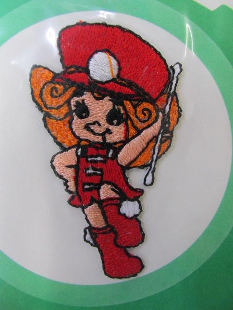 画像2: (7) 懐かしい 昭和レトロの刺繍ワッペン  アイロン接着