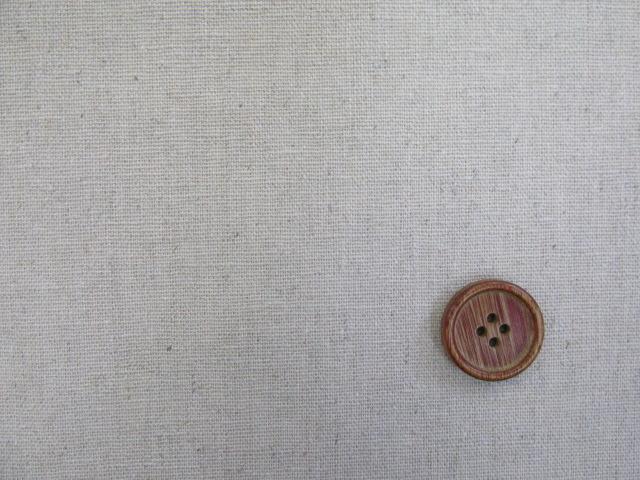 画像2: 【お買い得・現品限り】 無地 10番綿麻ハーフリネン生地
