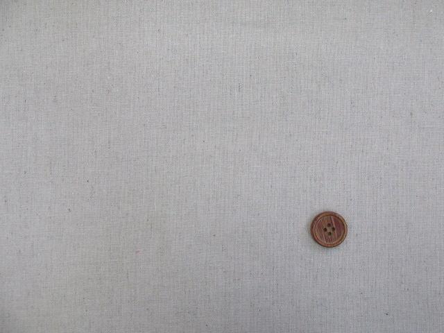 画像2: ◆◆【お買い得・現品限り】 無地 10番綿麻ハーフリネン生地 はぎれ1m10cm(ベージュ)