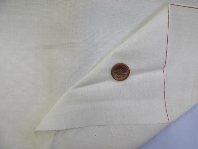 画像3: (4)【お買い得・おすすめ】日本製(西脇産) ダンガリー生地(赤耳セルビッチ) はぎれ75cm(オフ)