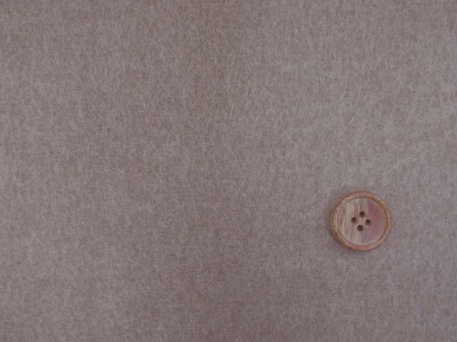 画像1: (5)【お買い得】 118cm巾 無地 ネル起毛生地 (茶) はぎれ80cm