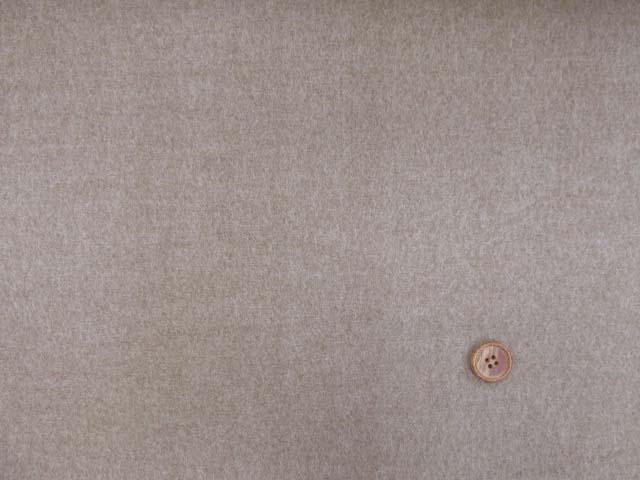 画像2: (5)【お買い得】 118cm巾 無地 ネル起毛生地 (茶) はぎれ80cm