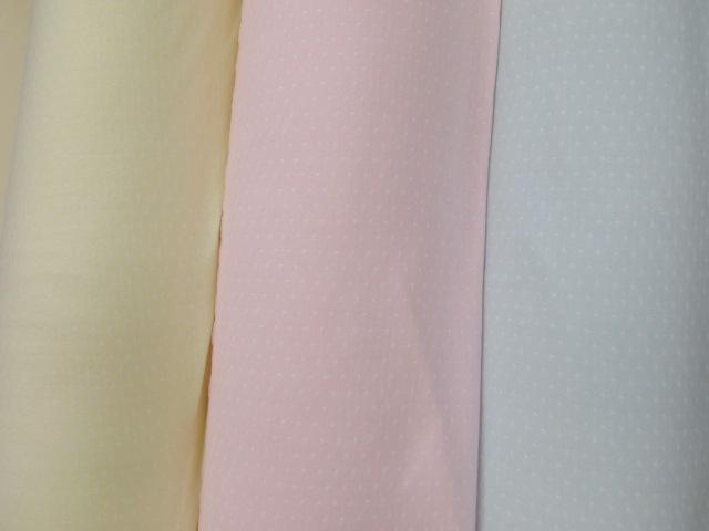 画像1: 巾65cm接結ニット生地  ドット柄