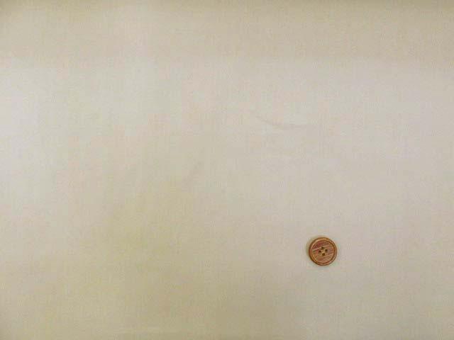画像2: (2)撥水加工 コットンナイロン生地 無地(ベージュ)はぎれ60cm