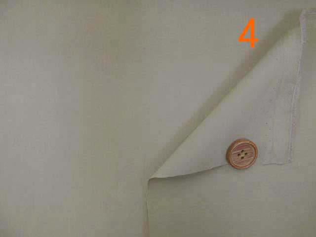 画像3: (2)撥水加工 コットンナイロン生地 無地(サンドベージュ4)はぎれ1m40cm