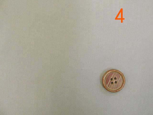 画像1: (2)撥水加工 コットンナイロン生地 無地(サンドベージュ4)はぎれ1m40cm