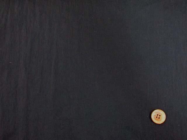 画像2: 【お買い得】撥水加工 ナイロンストレッチ生地 (黒)