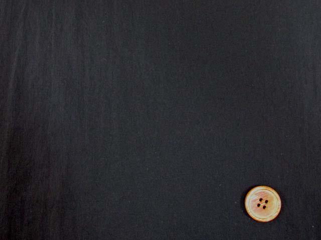 画像1: 【お買い得】撥水加工 ナイロンストレッチ生地 (黒)