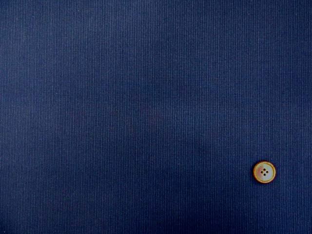 画像2: 【お買い得】139cm幅 クールマックス コードレーンストレッチ生地 (ネイビー)