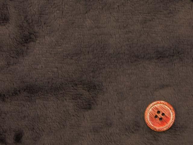 画像1: (T)ふわふわ柔らかい!! 定番 マイクロベルボア ボア生地 はぎれ20cm(ブラウン)