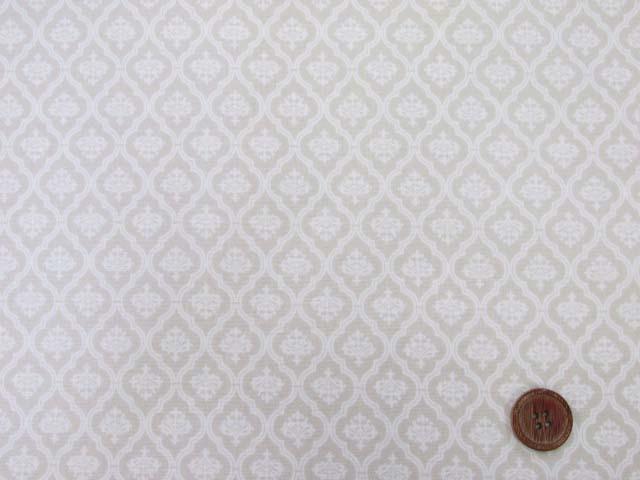画像2: ☆オシャレな!! モロッカン・小柄 シーチング生地(ベージュ) はぎれ60cm