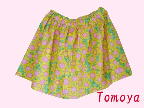 画像1: 子供服 ギャザースカート
