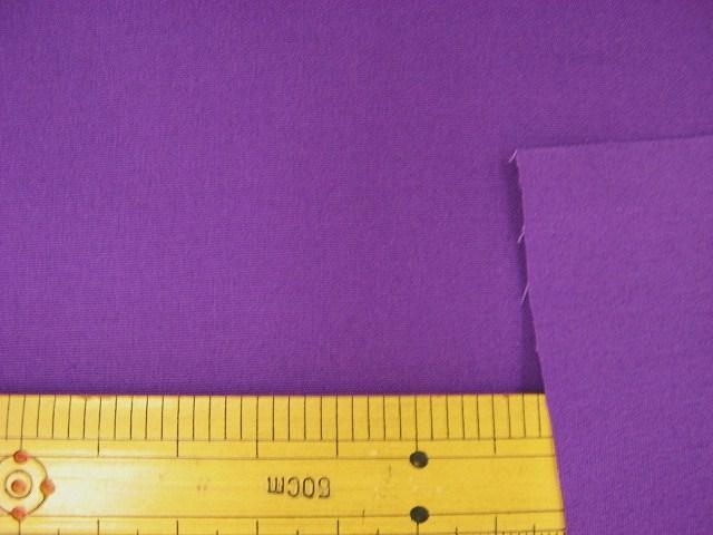 画像1: ▼訳あり ブロード 紫系(276) はぎれ1m70cm