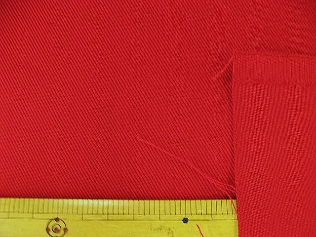 画像1: (4)カツラギ はぎれ30cm(7)(赤)