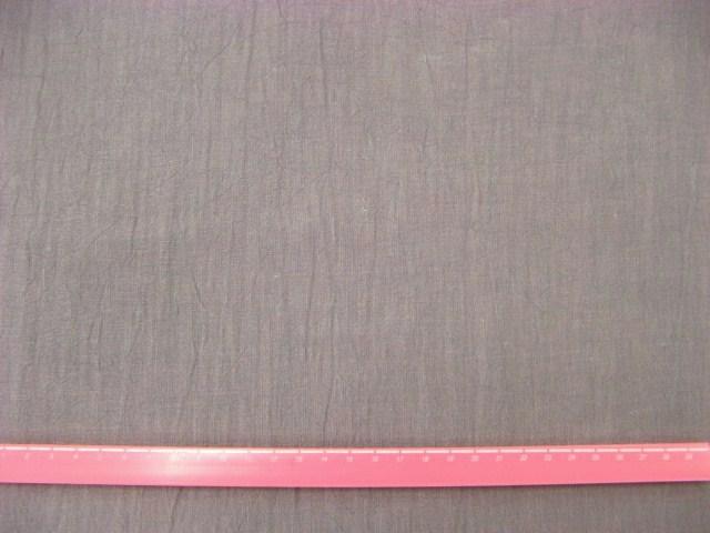 画像1: リネンキャンバスハンドワッシャー生地(紫鼠色)