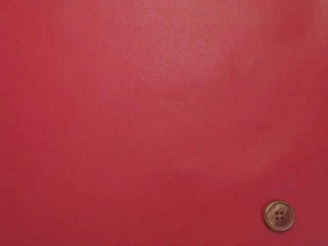 画像2: 無地 オックス生地(赤)ラミネート つや消し