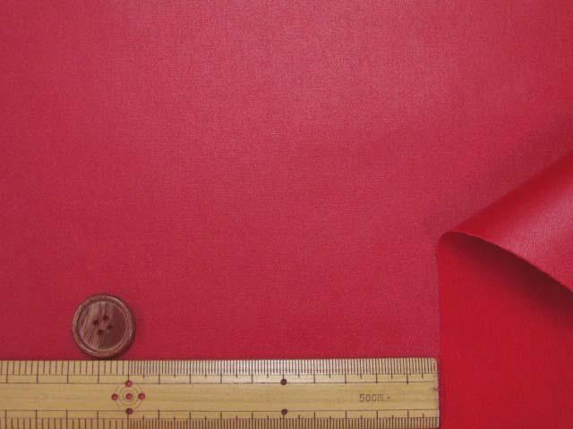 画像3: 無地 オックス生地(赤)ラミネート つや消し
