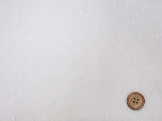 画像1: ☆スノードット ハンドワッシャー加工 ドビー生地 はぎれ40cm