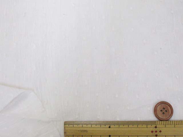 画像2: ☆スノードット ハンドワッシャー加工 ドビー生地 はぎれ40cm