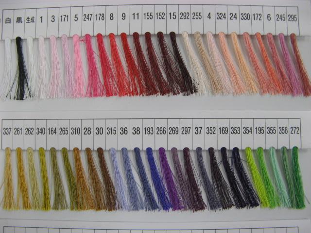 画像1: フジックスファイン 手ぬい糸  ポリエステル(絹タイプ)(100m巻き)