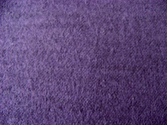 画像1: Wガーゼ起毛無地 紫↑